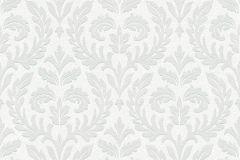 35890-1 cikkszámú tapéta.Barokk-klasszikus,különleges felületű,különleges motívumos,fehér,szürke,lemosható,vlies tapéta