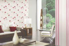 35911-2 cikkszámú tapéta.Különleges felületű,rajzolt,virágmintás,fehér,piros-bordó,szürke,súrolható,vlies tapéta