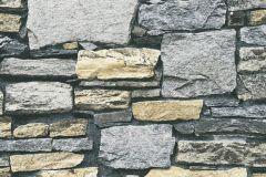 35938-2 cikkszámú tapéta.Kőhatású-kőmintás,különleges felületű,bézs-drapp,szürke,súrolható,vlies tapéta
