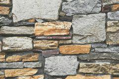 35938-3 cikkszámú tapéta.Kőhatású-kőmintás,különleges felületű,barna,bézs-drapp,sárga,szürke,súrolható,vlies tapéta