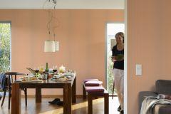 31996-4 cikkszámú tapéta.Csíkos,bézs-drapp,narancs-terrakotta,lemosható,illesztés mentes,vlies tapéta