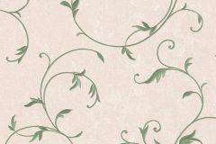 30418-5 cikkszámú tapéta.Barokk-klasszikus,bézs-drapp,zöld,súrolható,vlies tapéta