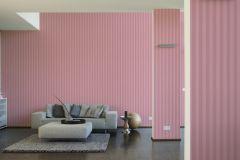 3121-36 cikkszámú tapéta.Csíkos,pink-rózsaszín,piros-bordó,súrolható,illesztés mentes,vlies tapéta