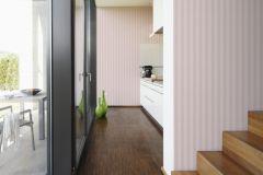 3121-50 cikkszámú tapéta.Csíkos,pink-rózsaszín,súrolható,illesztés mentes,vlies tapéta