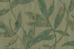 32880-1 cikkszámú tapéta.Különleges felületű,metál-fényes,természeti mintás,textil hatású,arany,barna,zöld,súrolható,vlies tapéta