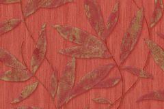 32880-2 cikkszámú tapéta.Különleges felületű,metál-fényes,természeti mintás,textil hatású,arany,piros-bordó,súrolható,vlies tapéta