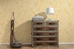 32880-4 cikkszámú tapéta.Különleges felületű,metál-fényes,természeti mintás,textil hatású,arany,barna,bézs-drapp,sárga,súrolható,vlies tapéta