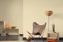 32882-6 cikkszámú tapéta.Egyszínű,különleges felületű,textil hatású,arany,sárga,súrolható,illesztés mentes,vlies tapéta