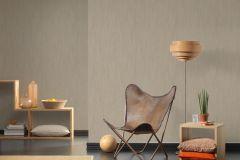 32883-7 cikkszámú tapéta.Csíkos,egyszínű,különleges felületű,textil hatású,barna,szürke,súrolható,illesztés mentes,vlies tapéta