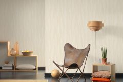 32999-6 cikkszámú tapéta.Absztrakt,csíkos,különleges felületű,metál-fényes,textil hatású,arany,bézs-drapp,fehér,súrolható,vlies tapéta