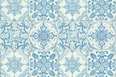 30042-2 cikkszámú tapéta.Konyha-fürdőszobai,kőhatású-kőmintás,fehér,kék,súrolható,vlies tapéta