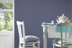 3365-14 cikkszámú tapéta.Egyszínű,textil hatású,kék,súrolható,illesztés mentes,vlies tapéta