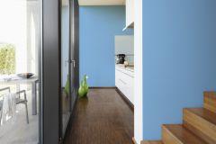 3096-24 cikkszámú tapéta.Egyszínű,kék,lemosható,illesztés mentes,vlies tapéta
