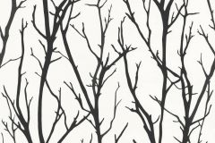 2683-41 cikkszámú tapéta.Fa hatású-fa mintás,fehér,fekete,lemosható,vlies tapéta