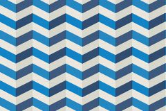 34123-1 cikkszámú tapéta.3d hatású,különleges motívumos,fehér,kék,súrolható,vlies tapéta