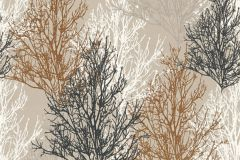 34819-3 cikkszámú tapéta.Természeti mintás,bézs-drapp,fekete,lemosható,papír tapéta