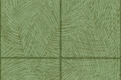 37372-1 cikkszámú tapéta.Geometriai mintás,kockás,természeti mintás,zöld,súrolható,vlies tapéta