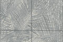 37372-2 cikkszámú tapéta.Kockás,természeti mintás,szürke,súrolható,vlies tapéta