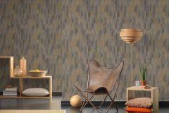 37373-5 cikkszámú tapéta.Geometriai mintás,természeti mintás,barna,bézs-drapp,bronz,súrolható,vlies tapéta