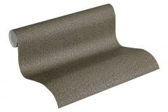 37374-1 cikkszámú tapéta.Textil hatású,barna,súrolható,illesztés mentes,vlies tapéta