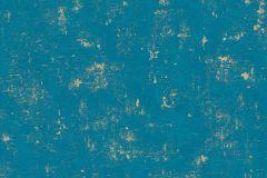 2307-68 cikkszámú tapéta.Absztrakt,arany,türkiz,lemosható,illesztés mentes,vlies tapéta