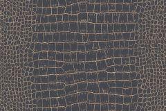 3710-03 cikkszámú tapéta.állatok,dekor,arany,fekete,lemosható,illesztés mentes,vlies tapéta