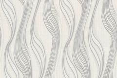 3714-23 cikkszámú tapéta.Absztrakt,ezüst,fehér,lemosható,vlies tapéta