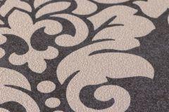 37270-4 cikkszámú tapéta.Barokk-klasszikus,csillámos,barna,bézs-drapp,súrolható,vlies tapéta