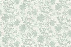36084-3 cikkszámú tapéta.Csillámos,virágmintás,fehér,zöld,súrolható,vlies tapéta