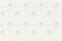 36086-1 cikkszámú tapéta.Csillámos,virágmintás,ezüst,fehér,súrolható,vlies tapéta