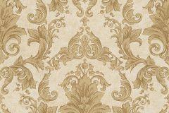 96215-5 cikkszámú tapéta.Barokk-klasszikus,különleges felületű,arany,barna,bézs-drapp,súrolható,vlies tapéta