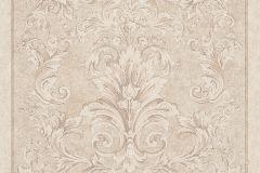 96216-2 cikkszámú tapéta.Barokk-klasszikus,különleges felületű,barna,bézs-drapp,fehér,vajszín,súrolható,vlies tapéta