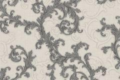 96231-5 cikkszámú tapéta.Barokk-klasszikus,fehér,fekete,szürke,súrolható,vlies tapéta
