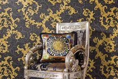 96231-6 cikkszámú tapéta.Barokk-klasszikus,arany,barna,súrolható,vlies tapéta