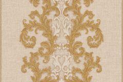 96232-3 cikkszámú tapéta.Barokk-klasszikus,arany,bézs-drapp,súrolható,vlies tapéta