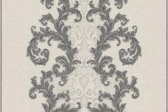 96232-5 cikkszámú tapéta.Barokk-klasszikus,bézs-drapp,fehér,fekete,szürke,súrolható,vlies tapéta