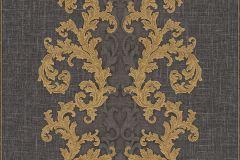 96232-6 cikkszámú tapéta.Barokk-klasszikus,arany,barna,súrolható,vlies tapéta