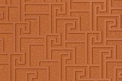 96236-2 cikkszámú tapéta.Különleges motívumos,narancs-terrakotta,súrolható,vlies tapéta