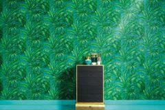 96240-6 cikkszámú tapéta.Természeti mintás,gyöngyház,türkiz,zöld,súrolható,vlies tapéta