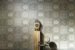 96272-1 cikkszámú tapéta.Barokk-klasszikus,barna,bézs-drapp,fehér,  tapéta
