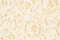 34326-1 cikkszámú tapéta.Barokk-klasszikus,különleges felületű,virágmintás,bézs-drapp,vajszín,súrolható,vlies tapéta