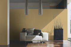 34327-5 cikkszámú tapéta.Egyszínű,különleges felületű,sárga,súrolható,illesztés mentes,vlies tapéta