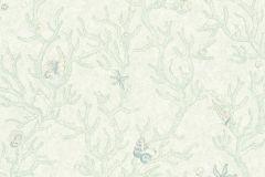 34496-2 cikkszámú tapéta.állatok,konyha-fürdőszobai,különleges felületű,rajzolt,zöld,súrolható,vlies tapéta