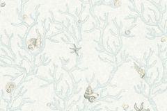 34496-3 cikkszámú tapéta.állatok,rajzolt,fehér,kék,súrolható,vlies tapéta