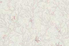 34496-4 cikkszámú tapéta.állatok,rajzolt,ezüst,pink-rózsaszín,súrolható,vlies tapéta