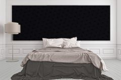 34862-2 cikkszámú tapéta.Különleges felületű,különleges motívumos,fekete,súrolható,vlies tapéta