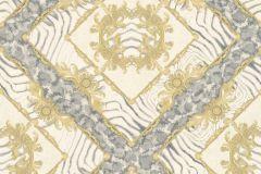 34904-2 cikkszámú tapéta.állatok,barokk-klasszikus,különleges felületű,arany,kék,vajszín,súrolható,vlies tapéta
