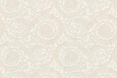 93583-2 cikkszámú tapéta.Barokk-klasszikus,különleges felületű,különleges motívumos,virágmintás,bézs-drapp,vajszín,súrolható,vlies tapéta