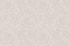 93583-5 cikkszámú tapéta.Barokk-klasszikus,különleges felületű,virágmintás,bézs-drapp,súrolható,vlies tapéta
