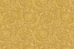 36692-3 cikkszámú tapéta.Barokk-klasszikus,csillámos,különleges felületű,metál-fényes,arany,súrolható,vlies tapéta